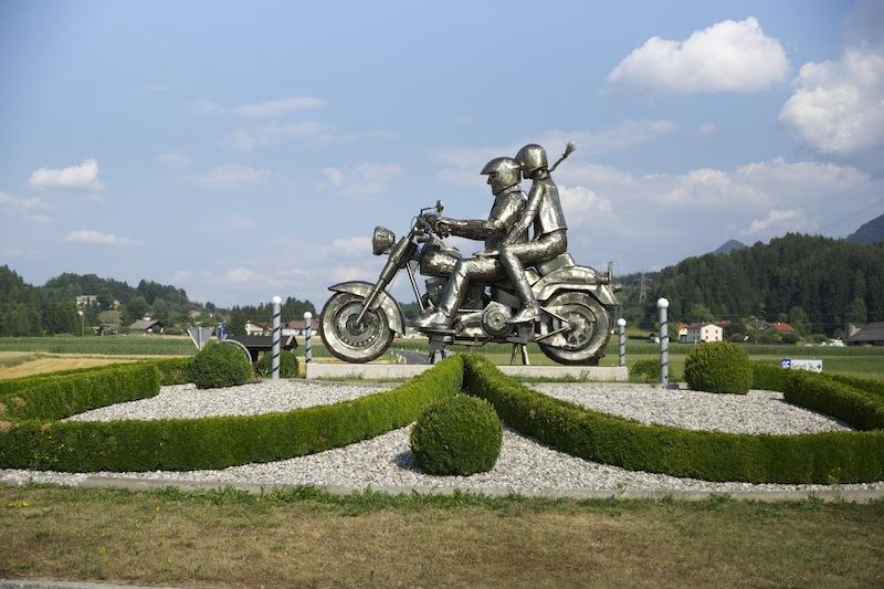 Harley Statue