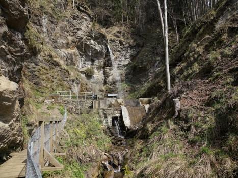 Wasserfall 2 - Finsterbach Wasserfälle Bodensdorf Ossiachersee