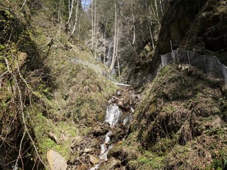Wasserfall 3 - Finsterbach Wasserfälle Bodensdorf Ossiachersee