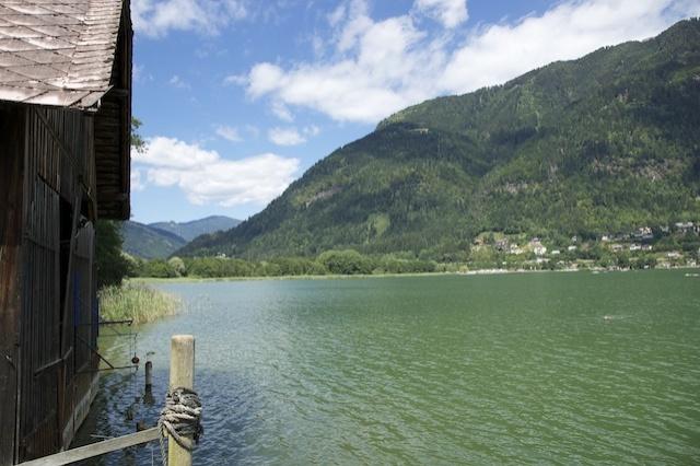 Ferienwohnung ossiacher see ferienhaus urlaub unterkunft for Urlaub haus am see